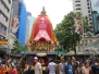 Rath Yatra 2012 on Queen Street. NZ